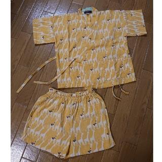 ハッカキッズ(hakka kids)のハッカキッズ 甚平  濱文様  90~100(甚平/浴衣)
