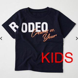 RODEO CROWNS WIDE BOWL - 【KIDS】ロデオ★ キッズ OVER LAP LOGO Tシャツ