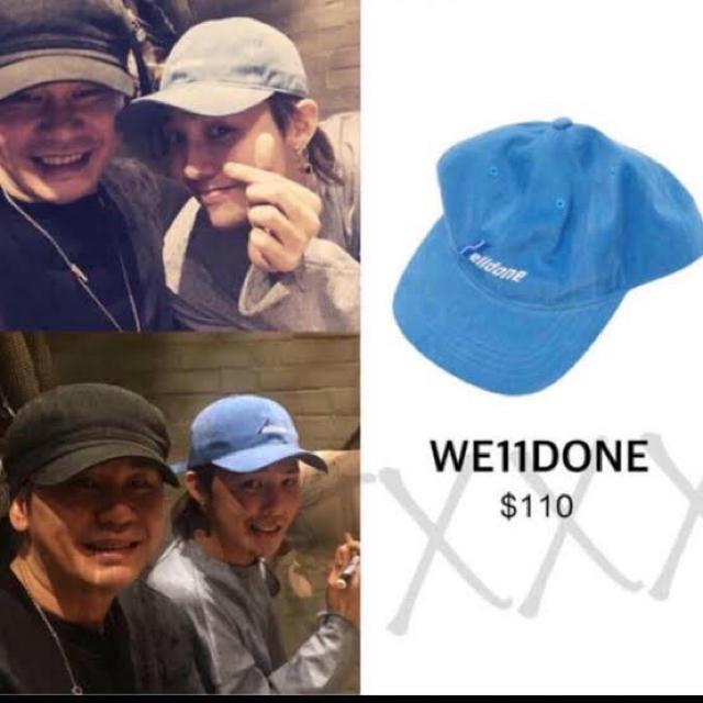 PEACEMINUSONE(ピースマイナスワン)のwe11done キャップ メンズの帽子(キャップ)の商品写真