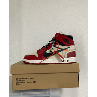 OFF-WHITE - 28 Off White Nike Air Jordan 1 Chicago