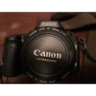キヤノン(Canon)のEOS55(フィルムカメラ)