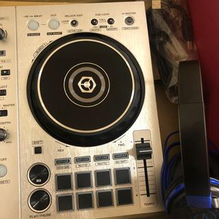 パイオニア(Pioneer)のPioneer ddj-400-s シルバー(DJコントローラー)
