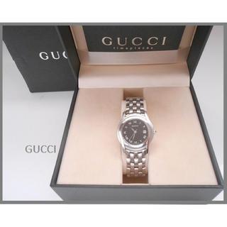 グッチ(Gucci)の✨GUCCI・シルバーベルトウォッチ✨(腕時計)