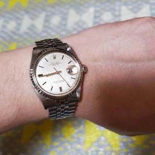 ロレックス(ROLEX)のOH済み!ROLEX デイトジャスト☆1603 アンティーク☆モザイク柄☆(腕時計(アナログ))