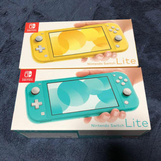 Nintendo Switch - 新品未使用 Nintend Switch Lite スイッチライト 本体