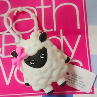 バスアンドボディーワークス(Bath & Body Works)のBath & Body Works ひつじ ホルダー(アルコールグッズ)