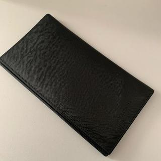 BVLGARI - BVLGARI ブルガリ メンズ 財布 長財布 黒 ウォレット 革 レザー