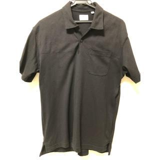 ユニクロ(UNIQLO)のUNIQLO Engineered Garments ポロシャツ M ブラック(ポロシャツ)