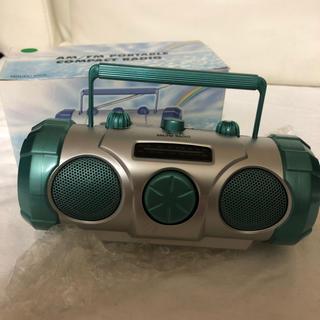 ラジカセ型AM/FMラジオ(ラジオ)