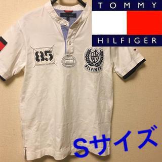 TOMMY HILFIGER - 【美品】TOMMY HILFIGER ポロシャツ Sサイズ ワッペン 送料無料