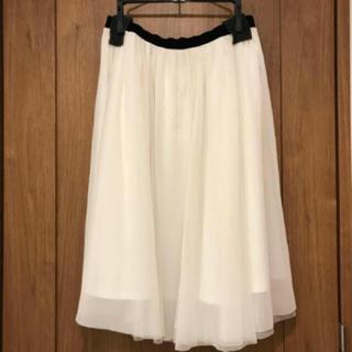 ガリャルダガランテ(GALLARDA GALANTE)のチュールスカート(ひざ丈スカート)