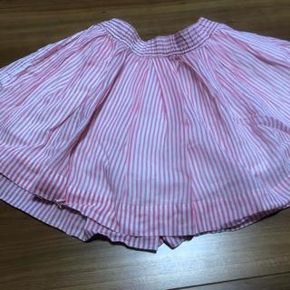 ユニクロ(UNIQLO)のUNIQLO フレアスカート 110〜125(スカート)