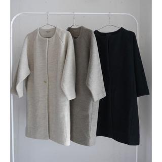 エヴァムエヴァ(evam eva)のevameva   preps wool coat  プレスウールコート(ロングコート)