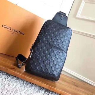ルイヴィトン(LOUIS VUITTON)のLouis Vuittonダミエルイヴィトンウエストポーチ ボディバッグ ショル(ボディバッグ/ウエストポーチ)