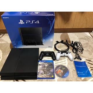 プレイステーション4(PlayStation4)のN様専用 PlayStation4 CHU-1200A500GBジェットブラック(家庭用ゲーム機本体)
