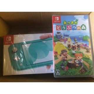 Nintendo Switch - 新品未開封 どうぶつの森 スイッチライト 本体 セット Switch 任天堂