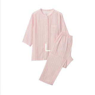 ムジルシリョウヒン(MUJI (無印良品))の脇に縫い目のない 細番手二重ガーゼ 七分袖パジャマ(パジャマ)