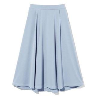 グレイル(GRL)のGRL フレアスカート ブルー(ひざ丈スカート)