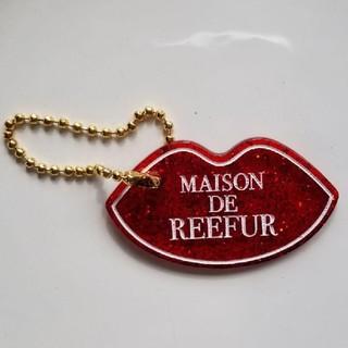 メゾンドリーファー(Maison de Reefur)のMAISON DE REEFUR アクリルキーホルダー リップ レッド(キーホルダー)