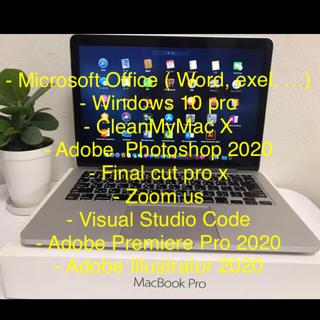 Apple - Macbook pro Microsoft Office, Windows 付き