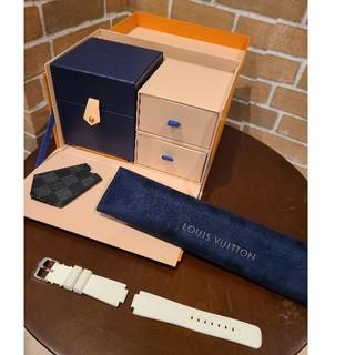 ルイヴィトン(LOUIS VUITTON)のLouis Vuitton QA004 ダミエグラフィット タンブールホライゾン(腕時計(デジタル))
