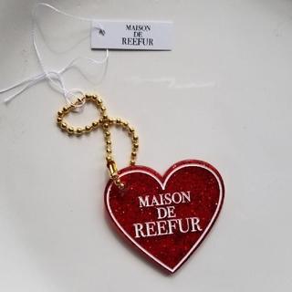 メゾンドリーファー(Maison de Reefur)のMAISON DE REEFUR アクリルキーホルダー ハート レッド(キーホルダー)