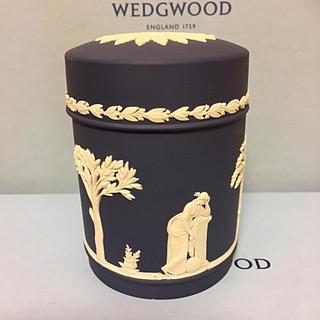 WEDGWOOD - 新品 未使用 ウェッジウッド ポートランドブルー トリンケットボックス