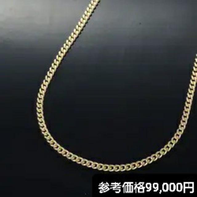 ORIENT(オリエント)のオリエント4C's 金 K18 喜平ネックレス 2面カット 50cm 10g  メンズのアクセサリー(ネックレス)の商品写真