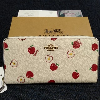 COACH - 翌日発送 COACH 財布 りんご