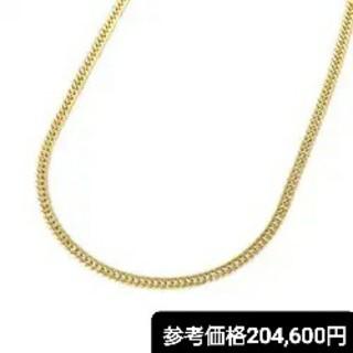 オリエント(ORIENT)のオリエント4C's 金 K18 喜平ネックレス 6面カット 50cm 20g (ネックレス)