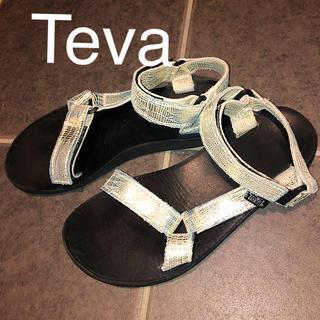 Teva - テバ レザーベルトサンダル レディース
