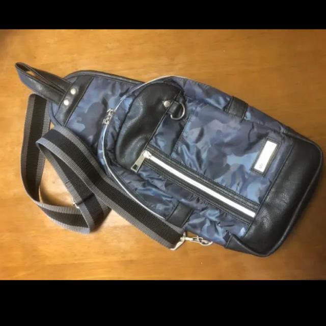 ALPHA INDUSTRIES(アルファインダストリーズ)のALPHA INDUSTRIES ボディバッグ ショルダー迷彩柄(ネイビー系) メンズのバッグ(ショルダーバッグ)の商品写真