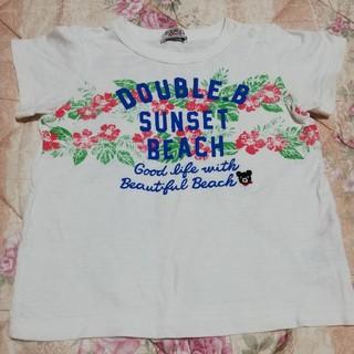 DOUBLE.B - ダブルビー Tシャツ ミキハウス