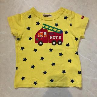 ミキハウス(mikihouse)のミキハウス HOT.B ホットビスケッツ 半袖 Tシャツ 80(Tシャツ)