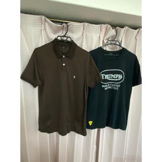 ポールスミス(Paul Smith)の◆SALE◆ポールスミス ポロシャツ/プリントTシャツ2枚セット XL/Lサイズ(Tシャツ/カットソー(半袖/袖なし))