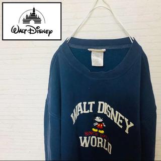 ディズニー(Disney)の大人気★ウォルトディズニー★ミッキーマウス★長袖★ロゴ入り★スウェット(スウェット)