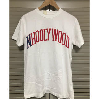 エヌハリウッド(N.HOOLYWOOD)のエヌハリウッド ロゴTシャツ 38 (Tシャツ/カットソー(半袖/袖なし))