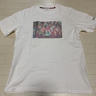 ポールスミス(Paul Smith)の【良品 希少】 日本製 Paul smith 人形プリント Tシャツ M(Tシャツ/カットソー(半袖/袖なし))