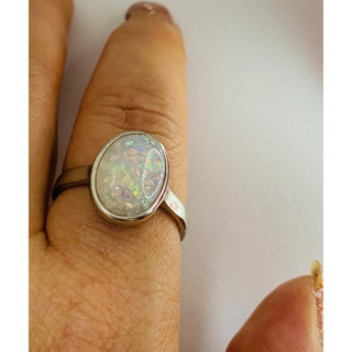 オパールリング(リング(指輪))