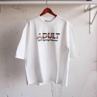SUNSEA - DAIRIKU 19ss ADULT Tシャツ