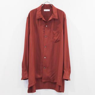 YAECA - THEE オーバーサイズシャツ レーヨン YAECA auralee YOKE