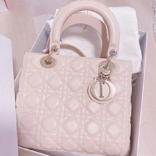 クリスチャンディオール(Christian Dior)のレディディオール ハンドバッグ(ショルダーバッグ)