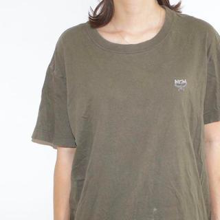 エムシーエム(MCM)のエムシーエム MCM Tシャツ 刺繍 ワンポイントロゴ(Tシャツ/カットソー(半袖/袖なし))