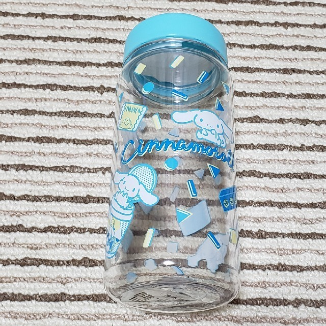 サンリオ(サンリオ)のシナモロール クリアボトル 水色 キッズ/ベビー/マタニティの授乳/お食事用品(水筒)の商品写真