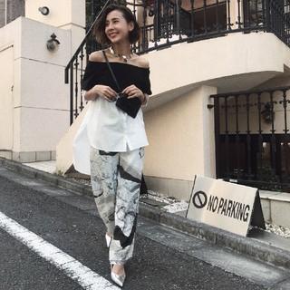Ameri VINTAGE - アメリヴィンテージ JAYDEN CRACK PANTS