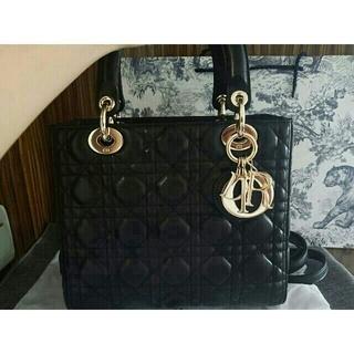 クリスチャンディオール(Christian Dior)のDior レディディオール ハンドバッグ お値下げしました(ハンドバッグ)