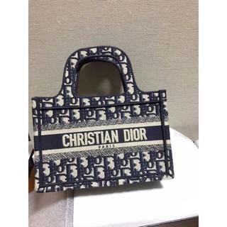 クリスチャンディオール(Christian Dior)の極美品★ディオール☆Dior☆キャンパスロゴトートバッグ(ハンドバッグ)