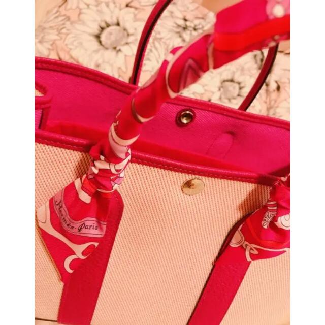 Hermes(エルメス)のHERMES ガーデンパーティ  ローズパープル 新品未使用 レディースのバッグ(トートバッグ)の商品写真