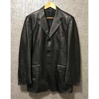 ポールスミス(Paul Smith)のポールスミス 羊革レザージャケット M ブラック 黒 本革 PaulSmith(レザージャケット)
