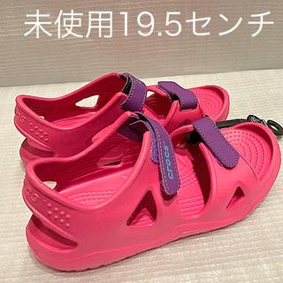 crocs - クロックスgirlsサンダル19.5センチ